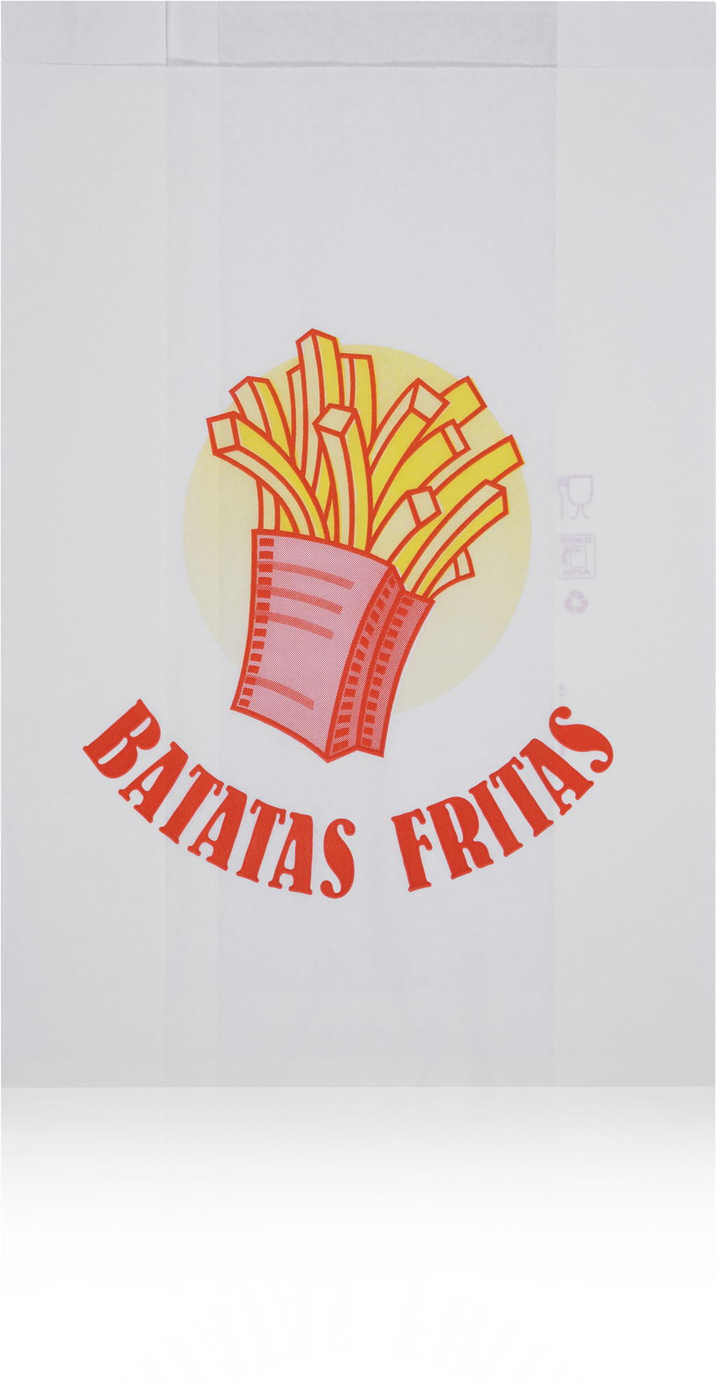 Grease Proof Paper Bags French Fries