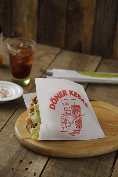 Saqueta Hamburguer/ Kebab